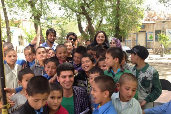 APn in Kabul - Plantation of Trees in Schools (Spring of Hope)
